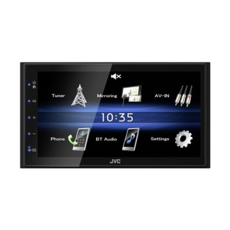 JVC Car Receiver with Touch Screen KW-M25BT