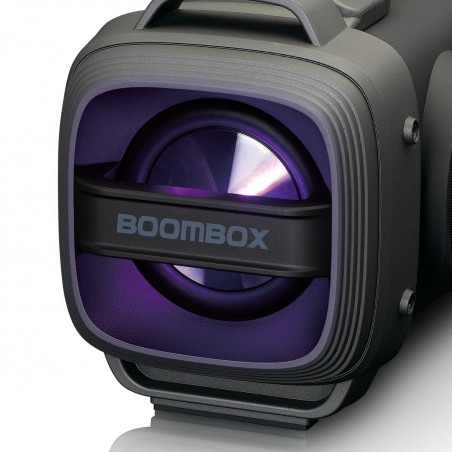 Lenco Bluetooth Speaker FM radio USB and SD  SPR-200BK