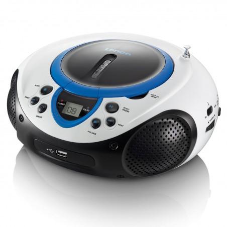 Lenco  Portable FM Radio CD and USB player SCD-38