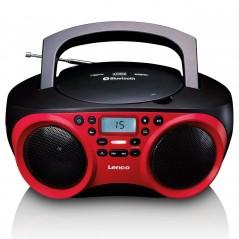 Lenco Portable FM Radio CD-USB player with Bluetooth SCD-501