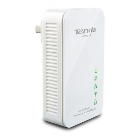 TENDA Wireless adapter  PW201A  N300 Powerline Extender