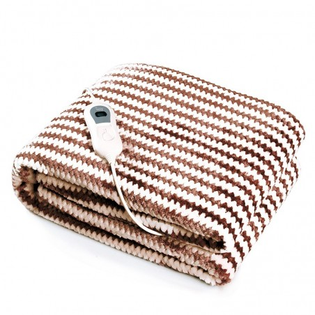 IZZY Electric Blanket 180x130cm Brown