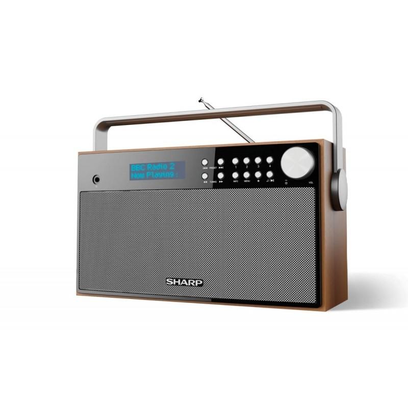 SHARP DR-P355  Φορητό ραδιόφωνο BLUETOOTH / DAB