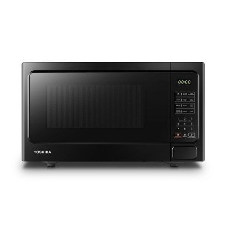 TOSHIBA GRILL MICROWAVE OVEN MM-EG34P(BK)